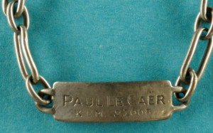 Paul curb with id number